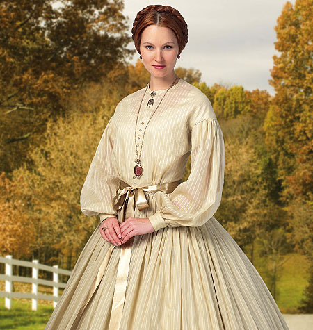 Butterick Misses Historical Dress  5831