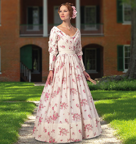 Butterick Misses Historical Dress 5832