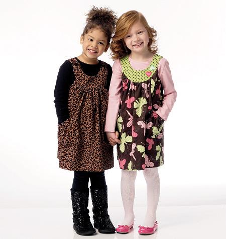 Butterick Children's/Girls' Jumper 5904