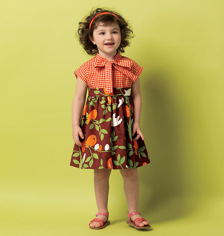Butterick Toddlers' Dress 5912