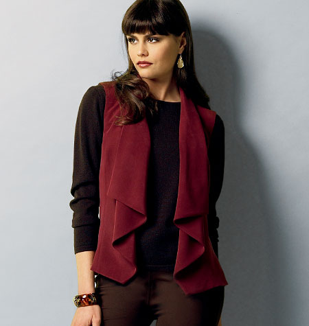Butterick Misses' Vest and Jacket 5928