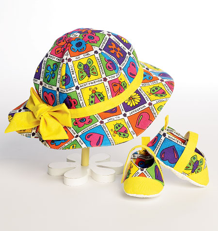 Butterick Infants' Hats and Shoes 5941