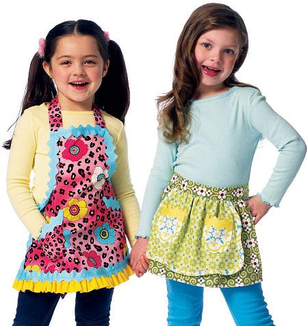 Butterick Children's/Girls' Aprons 5942