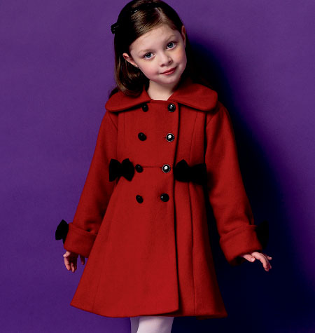 Butterick Children's/Girls' Coat 5946
