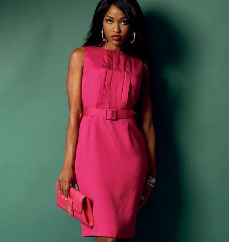 Butterick Misses'/Misses' Petite Dress and Belt 5947