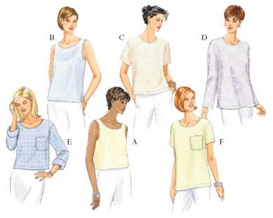 Butterick Fast & Easy Classics 5948