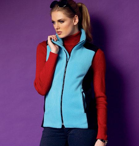 Butterick Misses' Vest 5957