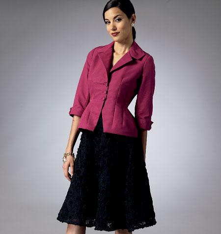 Butterick Misses'/Misses' Petite Jacket and Skirt 5962