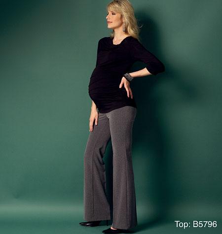 Butterick Misses' Maternity Pants 5964