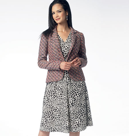 Butterick Misses' Lined Jacket and Dress 5975
