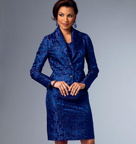 Butterick Misses' Jacket, Top, Dress, Skirt and Pants 5995