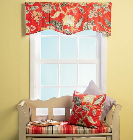Butterick Window Valances 6003