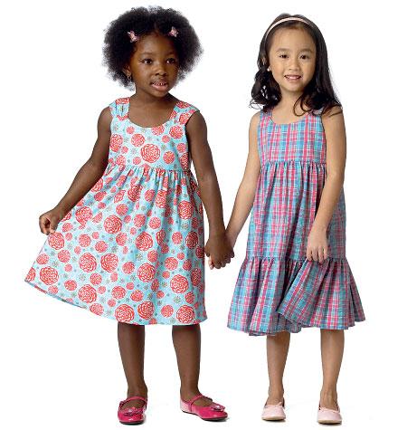 Butterick Toddlers'/Children's Dress 6004