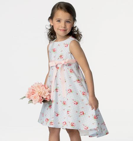 Butterick Children's/Girls' Dress 6013