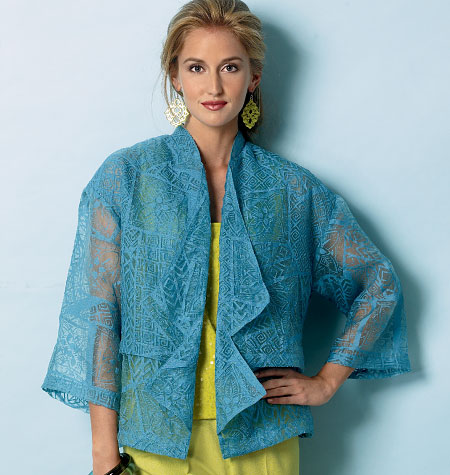 Butterick Misses' Jacket 6029