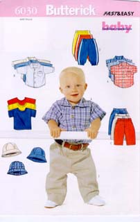 Butterick Baby Fashion Essentials 6030