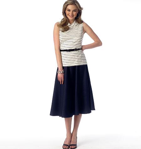 Butterick Misses' Skirt 6044