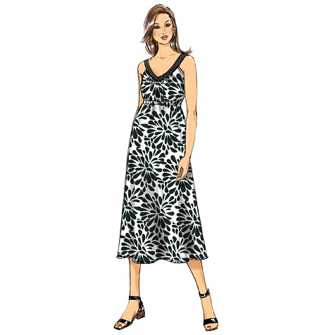 Butterick Misses' Maternity Dress and Belt 6068