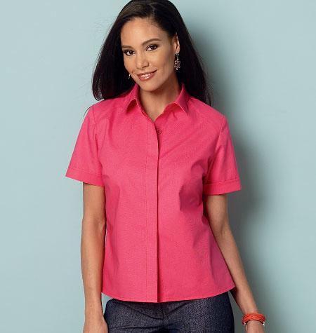 Butterick Misses'/Women's Shirt 6070