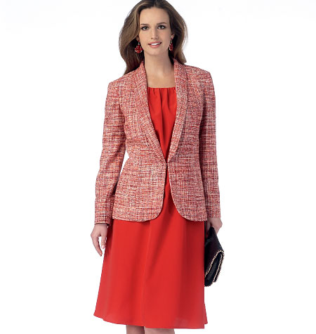 Butterick Misses' Jacket and Dress 6079