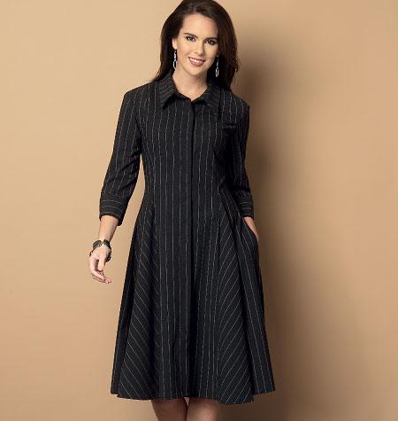 Butterick Misses'/Misses' Petite Dress and Belt 6091