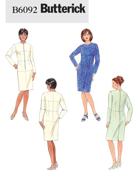 Butterick Women's Fitting Shell & Dress 6092