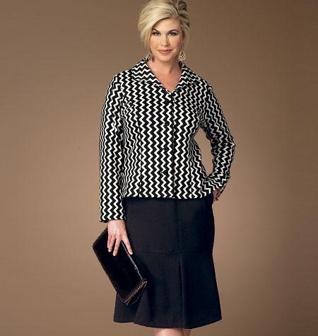 Butterick Misses'/Women's Jacket and Skirt 6111