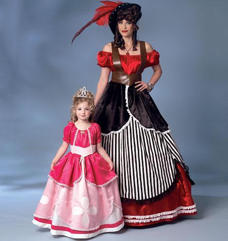 Butterick Misses'/Girls' Costume 6113
