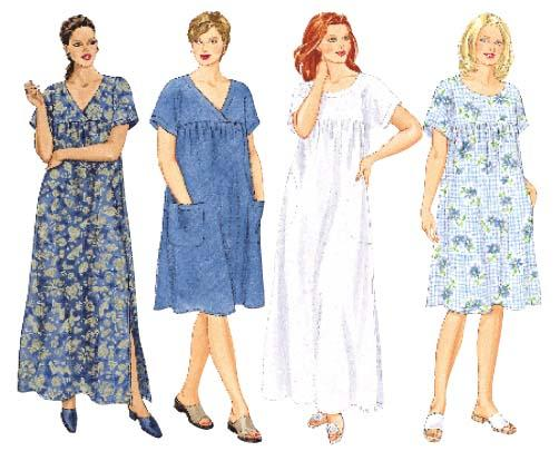 Butterick house dress 6601