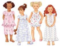 Butterick children's pajama patterns 6659