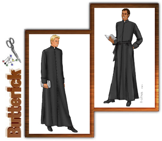 Butterick Cassock - Matrix Coat Style 6844