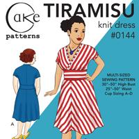 Cake Patterns Tiramisu Knit Dress Digital Pattern