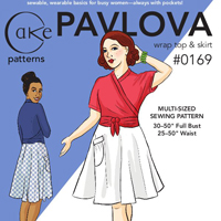 Cake Patterns Pavlova Skirt Digital Pattern