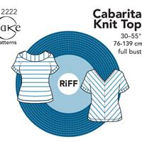 Cake Patterns Cabarita Knit Top Digital Pattern