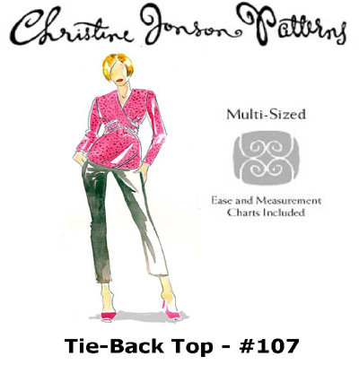 Christine Jonson Tie-Back Top 107