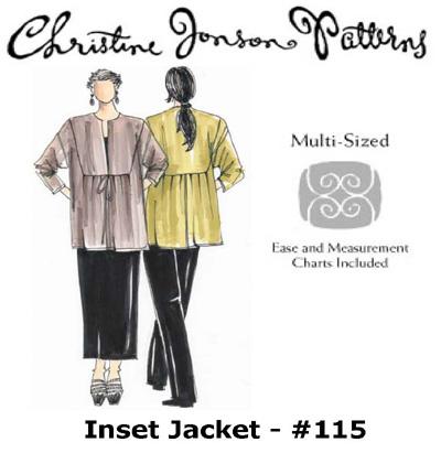 Christine Jonson Inset Jacket 115