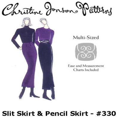 Christine Jonson Slit Skirt & Pencil Skirt 330