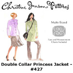 Christine Jonson Double Collar Princess Jacket