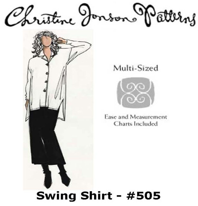 Christine Jonson Swing Shirt 505
