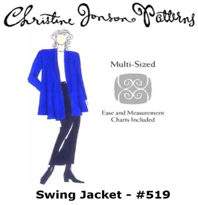 Christine Jonson Swing Jacket 519