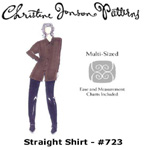 Christine Jonson Straight Shirt