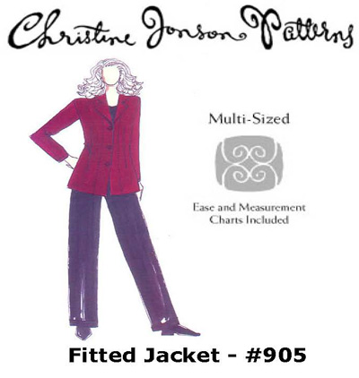 Christine Jonson Fitted Jacket 905