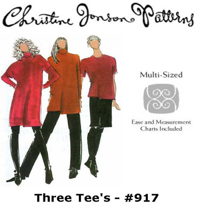 Christine Jonson Three Tees 917