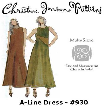 Christine Jonson A-Line Dress 930
