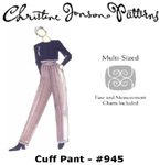 Christine Jonson Cuff Pant