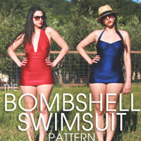 Closet Case Files Bombshell Swimsuit Digital Pattern