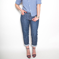 Closet Case Files Morgan Boyfriend Jeans Paper Pattern