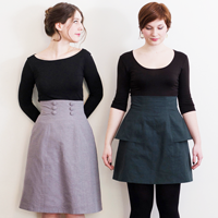 Deer & Doe Anemone Skirt Pattern