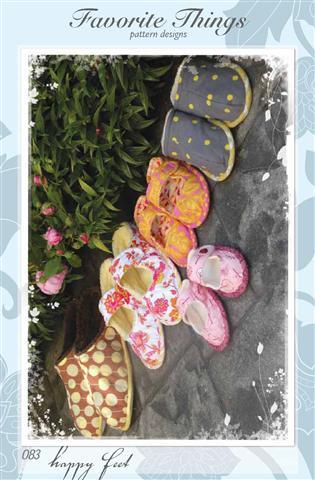 Favorite Things Happy Feet Pattern