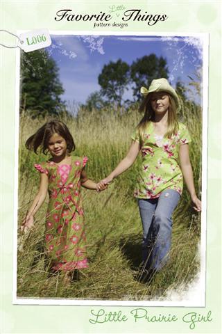 Favorite Things Little Prairie Girl Pattern